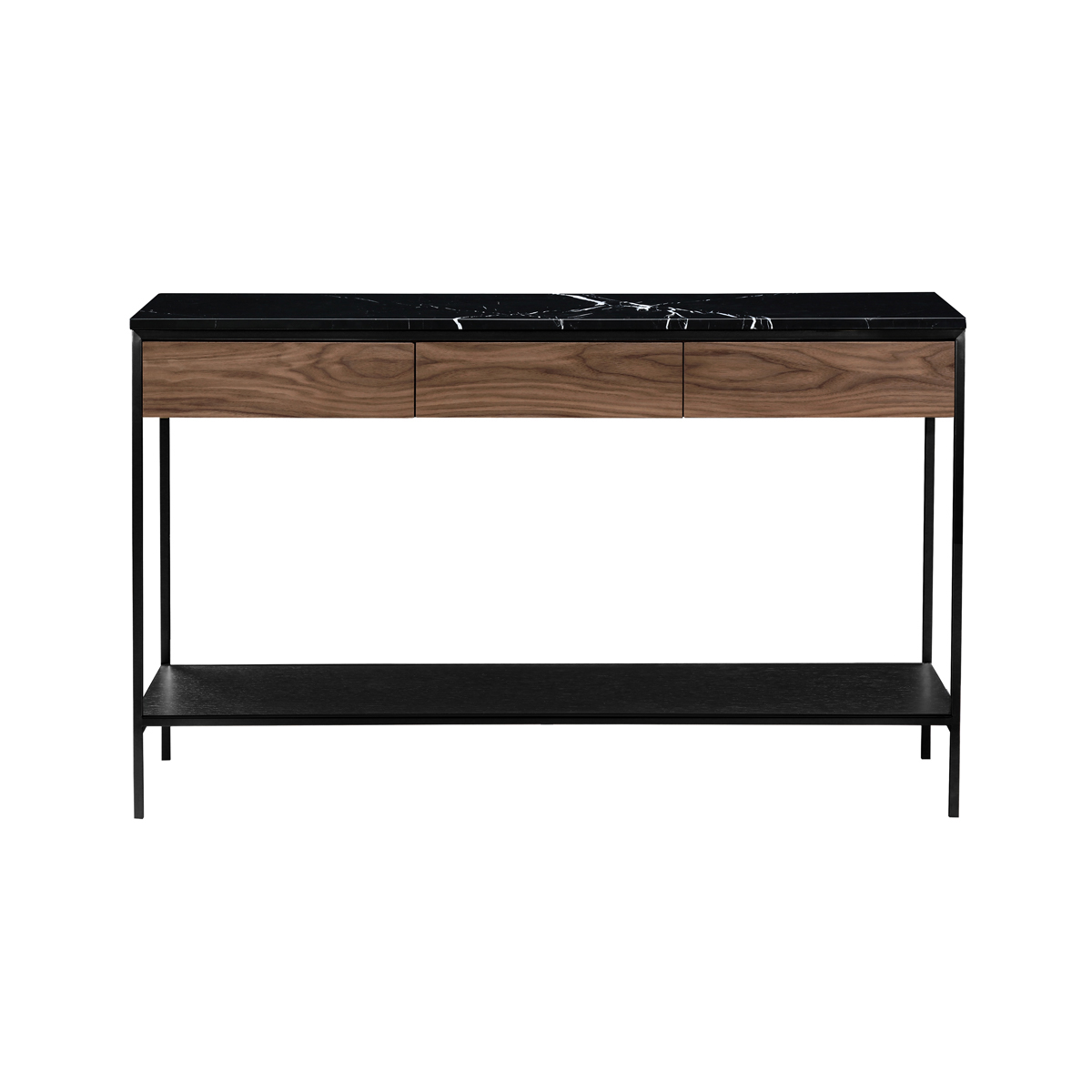 Erin Console Table – Black & Black