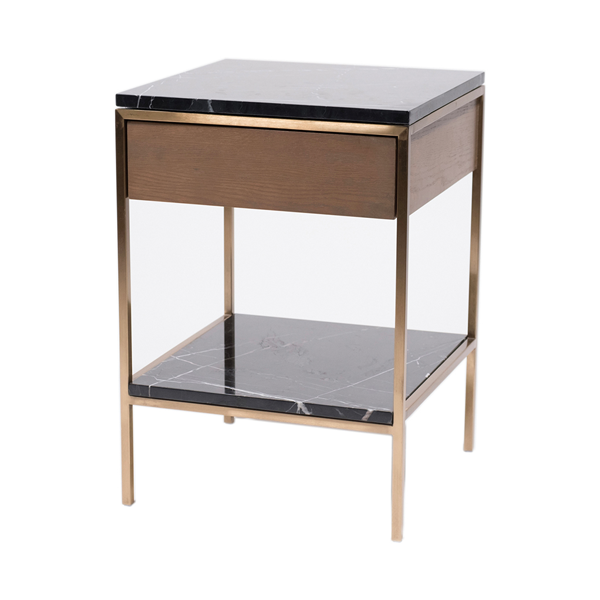 Erin Side Table – Mässing