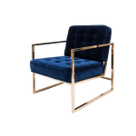 Fiona Chair – Midnight Blue