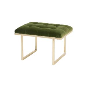 Fiona Ottoman – Amazon Green