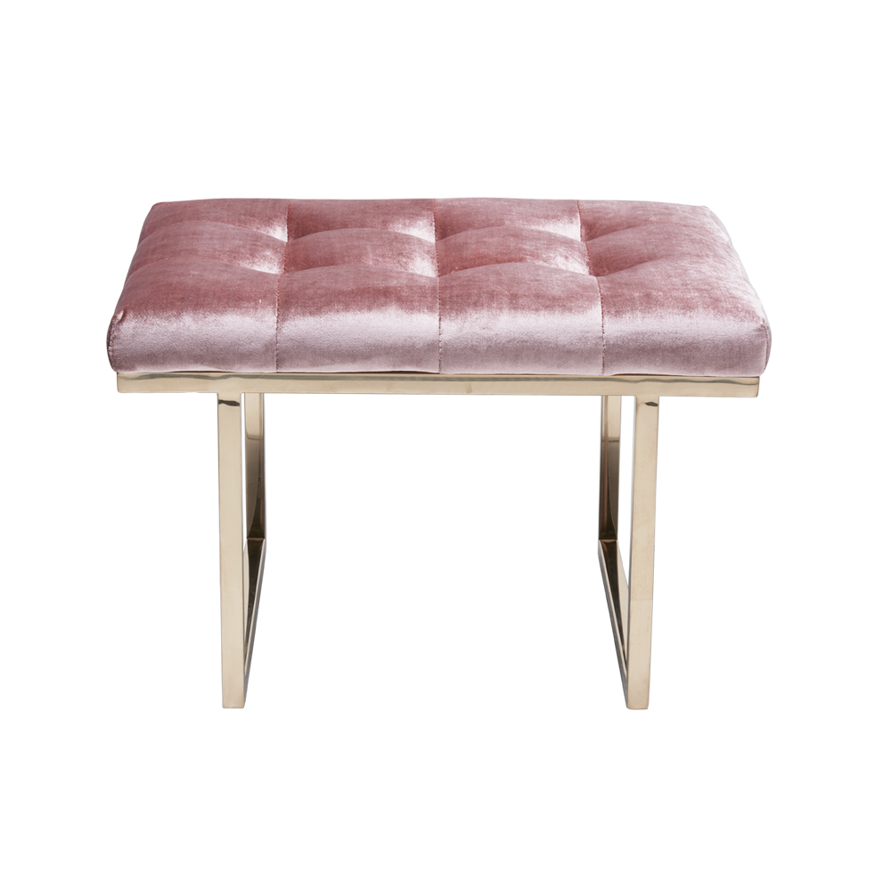 Fiona Ottoman – Orchid Pink