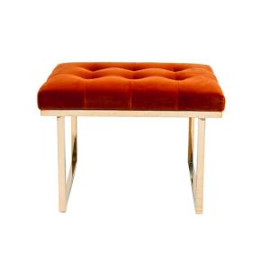Fiona Ottoman – Retro Orange