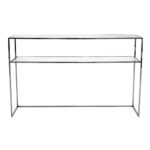 Gazelle Console Table – Svart Krom