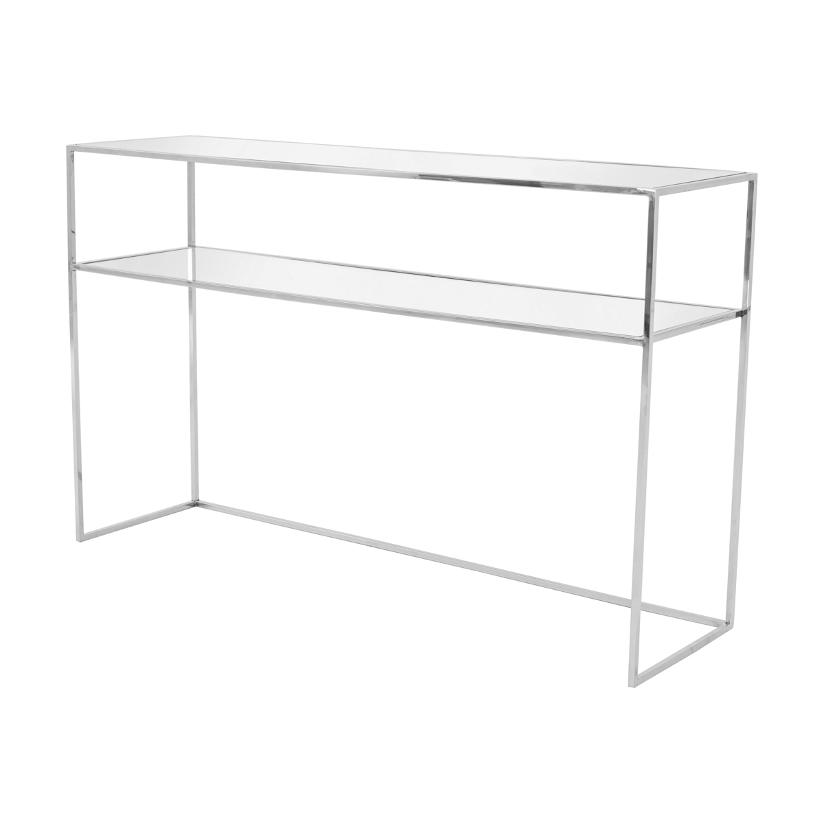 Gazelle Console Table 110 cm – Krom