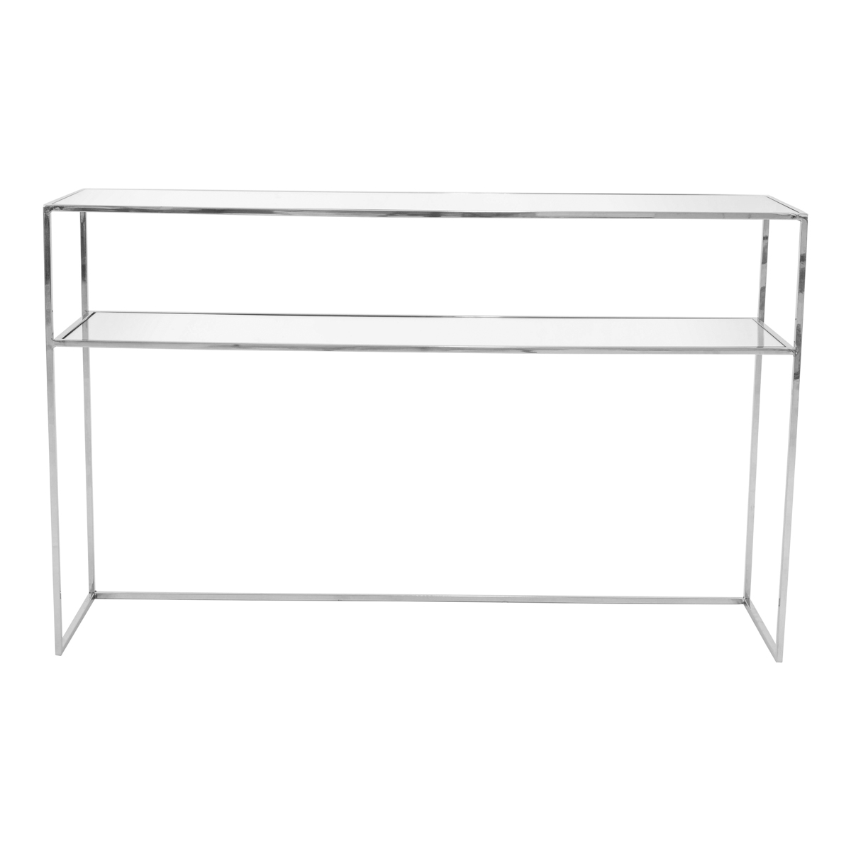 Gazelle Console 130 cm – Chrome