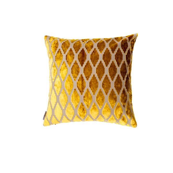 Golden Leaf Pillow