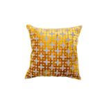 Golden Maze Pillow