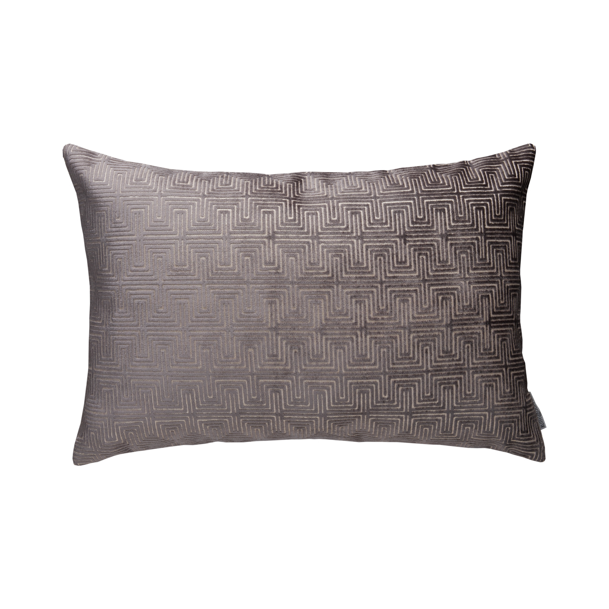 Grey Maze Pillow