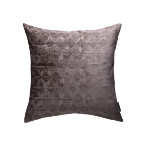 Grey Maze Pillow