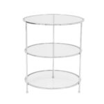 Layer Side Table – Chrome