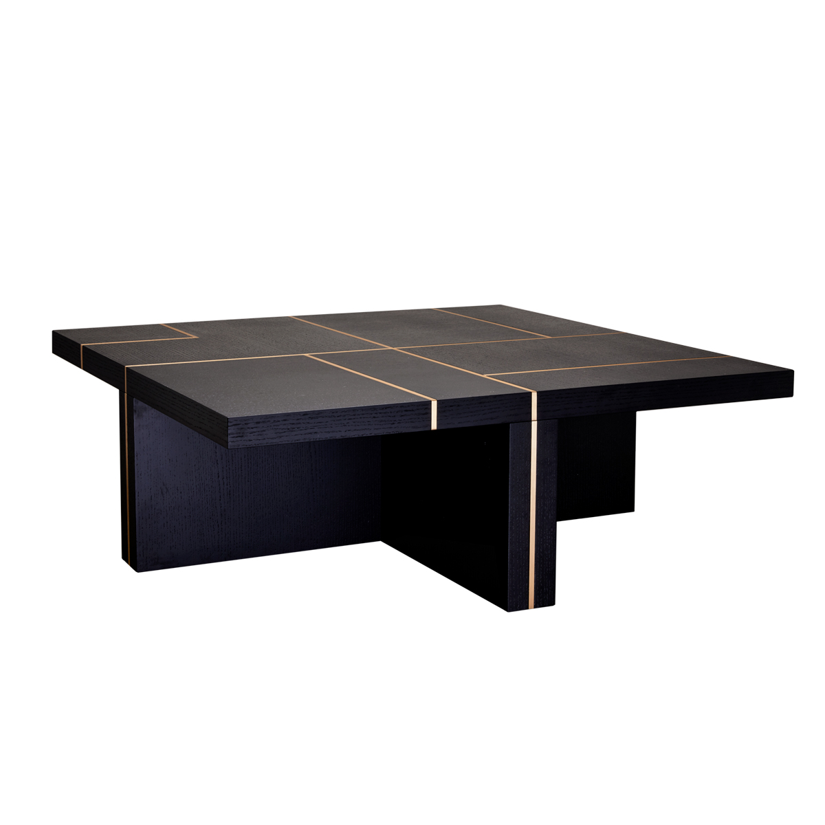 Mercer Coffee Table – Black Oak