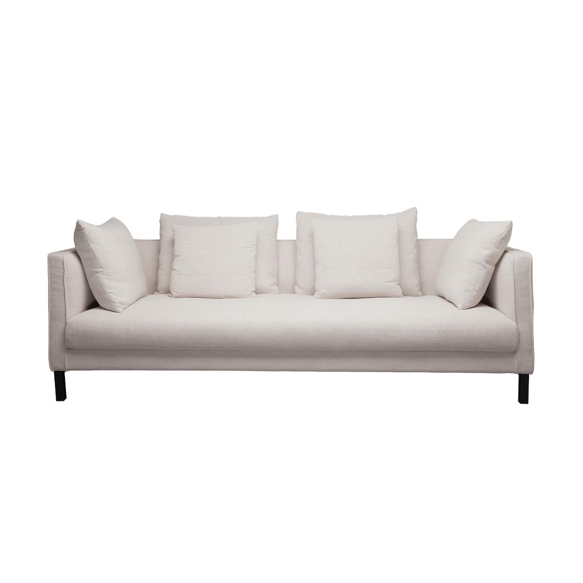 Mercer Sofa – Antique White Linen