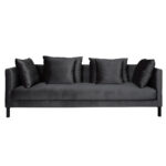 Mercer Sofa – Black Pearl