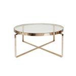Ozo Coffee Table – Polerad Mässing