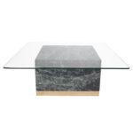 Quebec Coffee Table – Grön Marmor