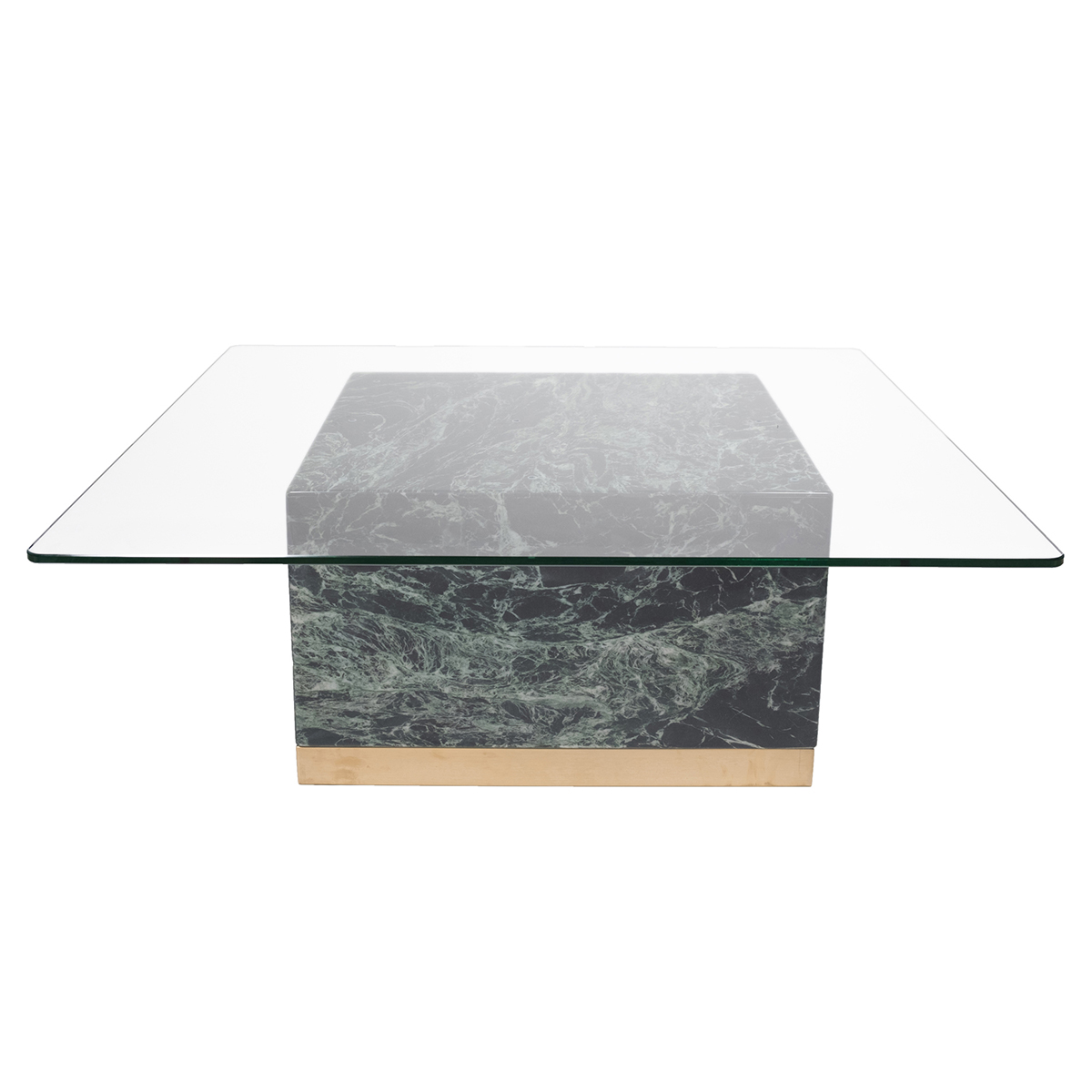 Quebec Coffee Table – Grön Marmor