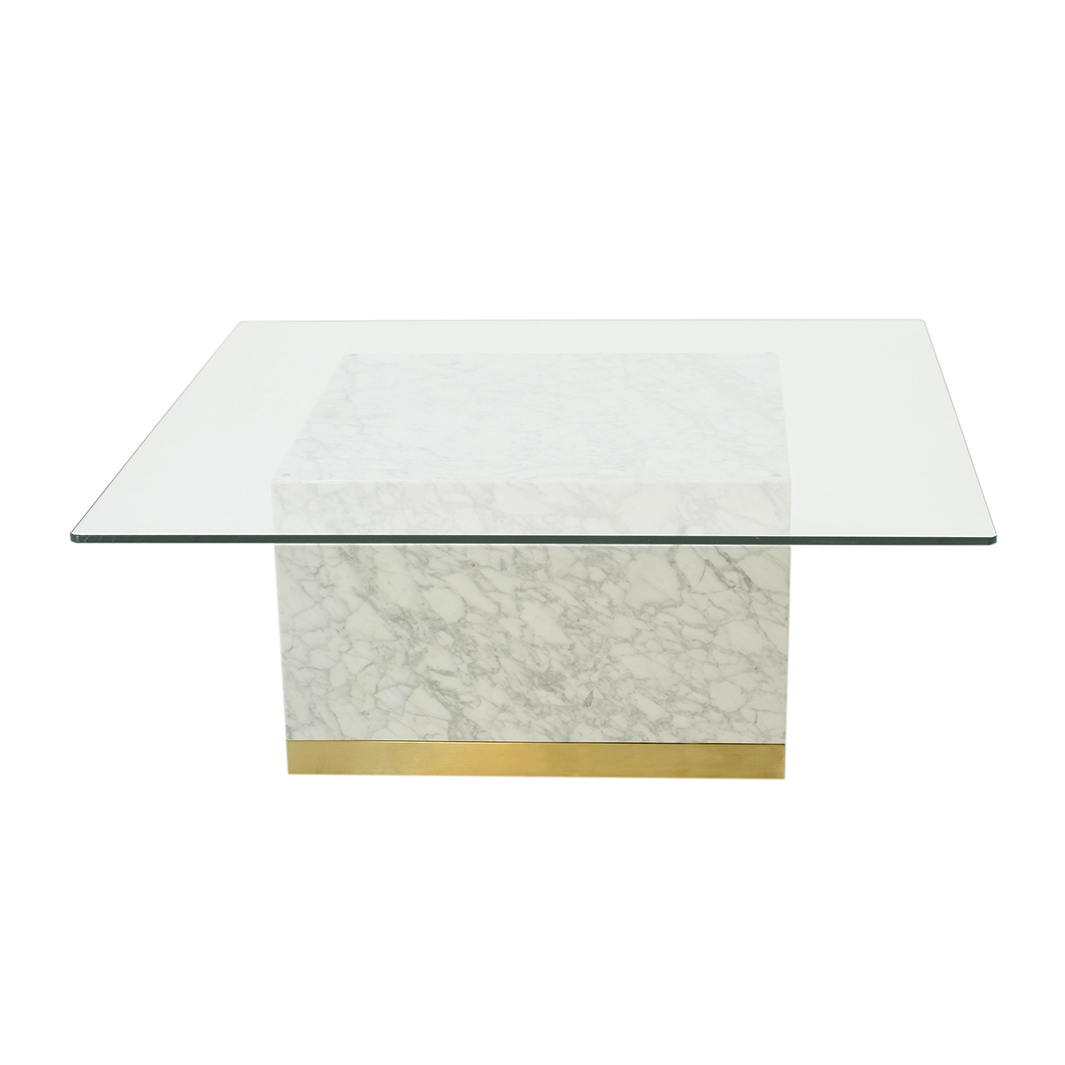 Quebec Coffee Table – Vit Carrara Marmor