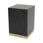 Quebec Side Table – Svart Marquina Marmor
