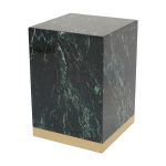 Quebec Side Table – Green Marble