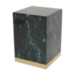 Quebec Side Table – Grön Marmor