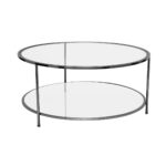 Sphere Coffee Table – Black Chrome