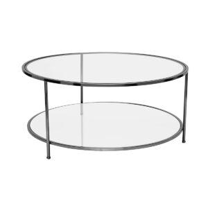 Sphere Coffee Table – Black Chrome