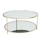 Sphere Coffee Table – Polerad Mässing