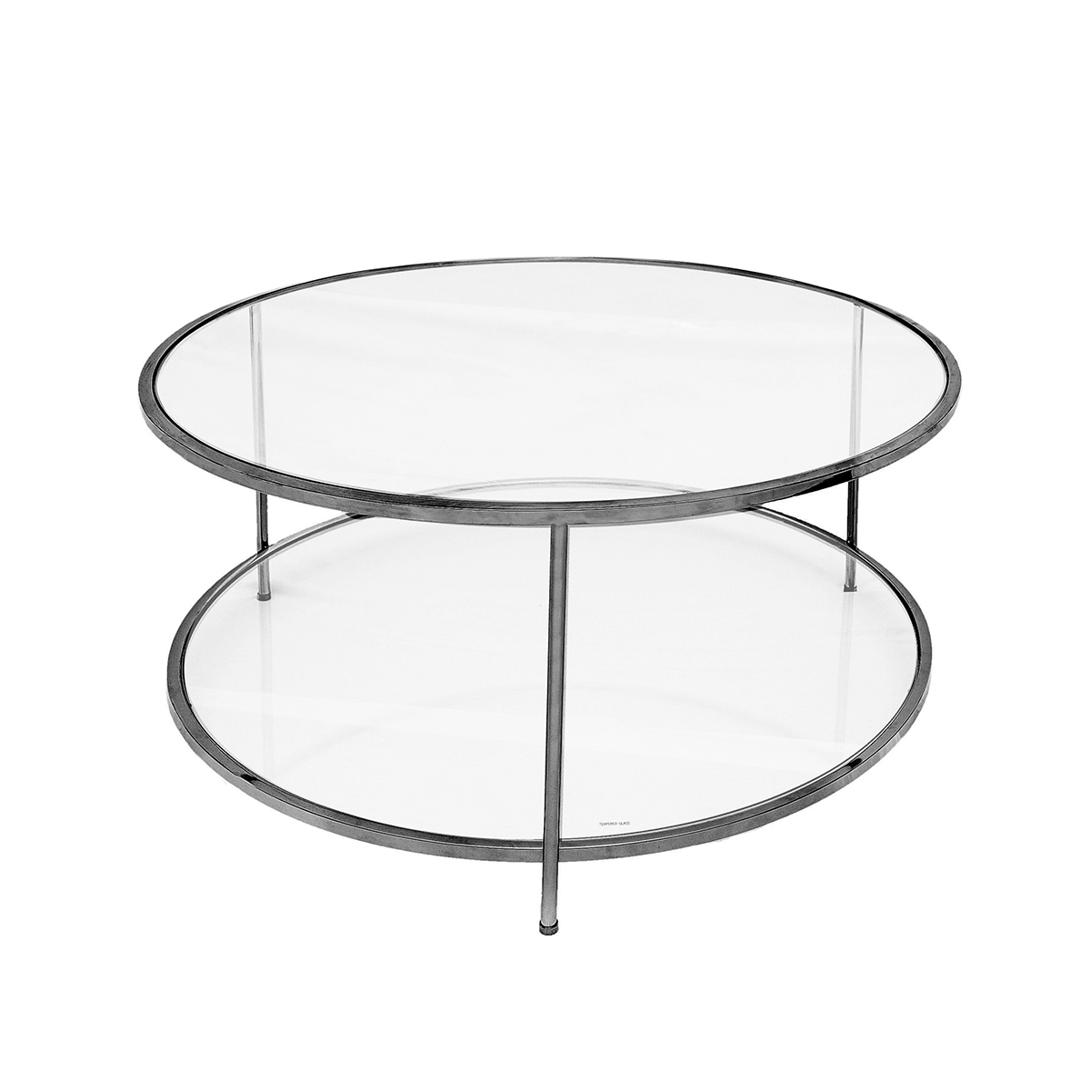 Sphere Coffee Table – Svart Krom