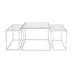 Three Set Table – Chrome