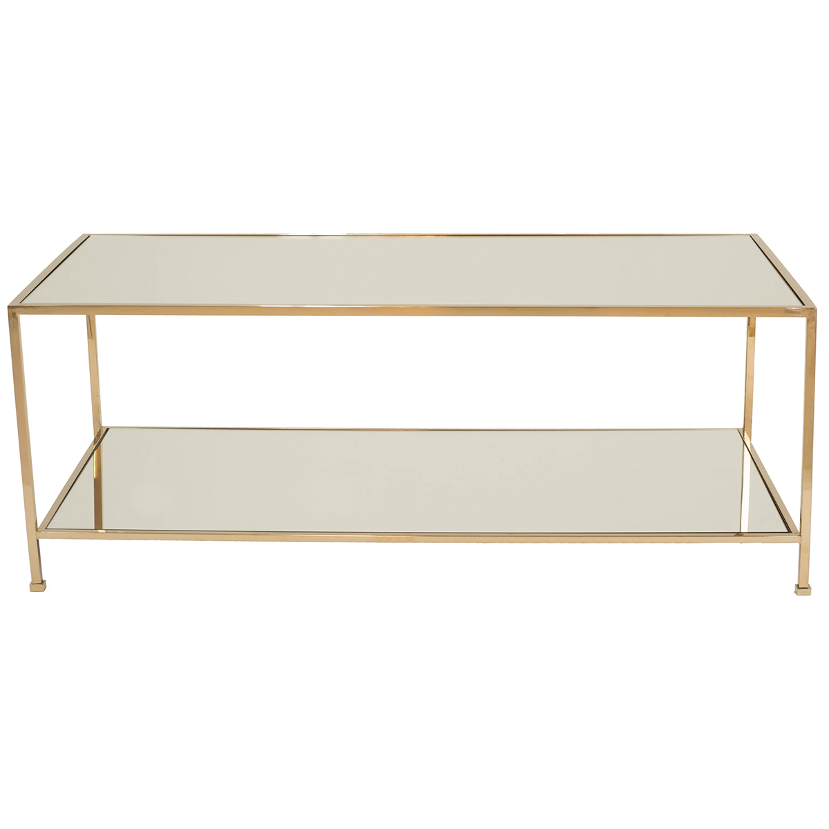 Wing Coffee Table – Polerad Mässing